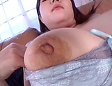 Dirty-minded Japanese solo girl Nagareda Minami in a wild solo action