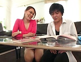 Horny Japanese milf craves for young cock in her cunt picture 15