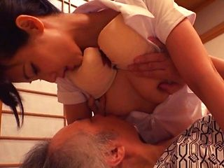 Busty Tokyo milf sucks dick and fucks pretty hard