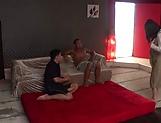 Astounding Japanese AV girl Tsubomi pleases two guys in a xxx action