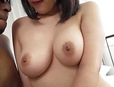 Hot Japanese babe had interracial sex picture 7