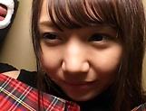 Hot Asian teen with small tits Kousaka Mirina gets pussy creampied