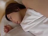 Nice looking Asian milf Satomi Yuria gets her shaved pussy pleasured