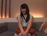 Very sexy Japanese teen Morimoto Tsugumi gets pussy creamed