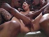 Exquisite milf has interracial threesome picture 14
