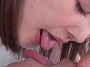 Juicy Japanese milf Nagareda Minami gets her shaved pussy poked